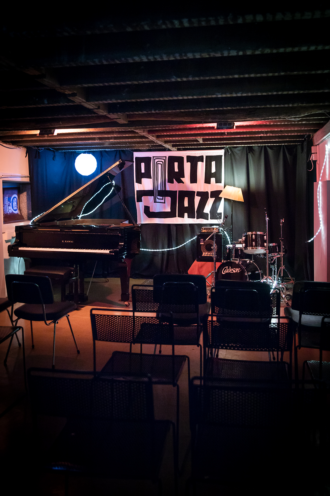 fotografia sala porta-jazz