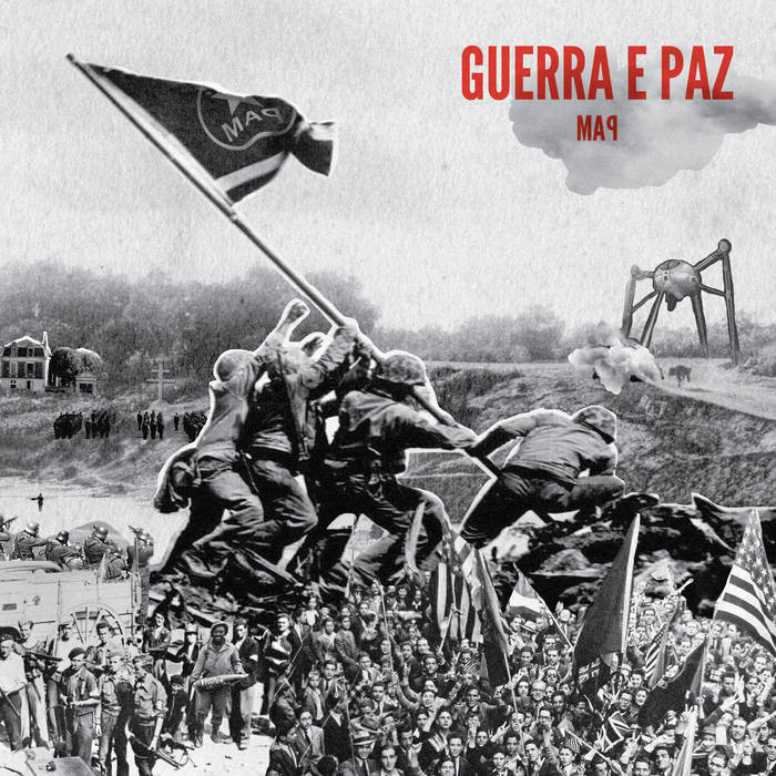 capa disco MAP - Guerra e Paz