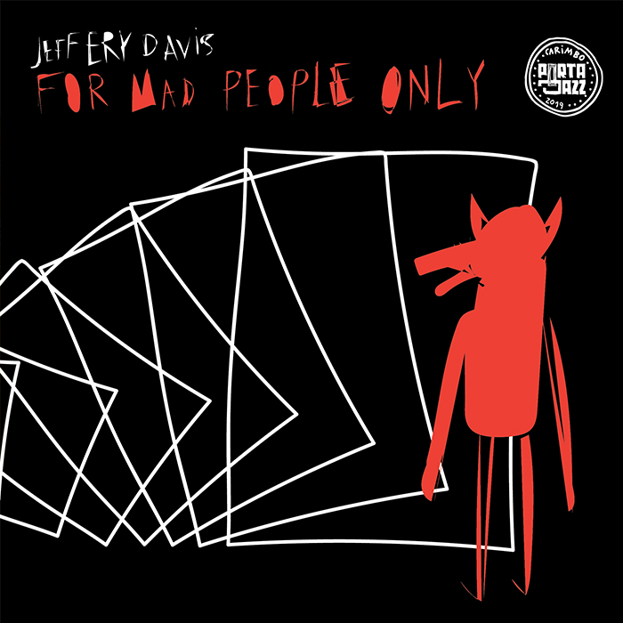 Capa disco Jeffery Davis - For Mad People Only
